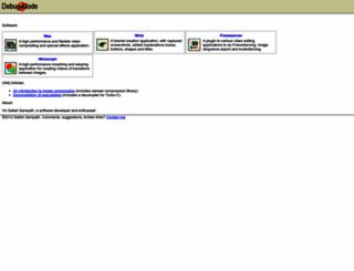 debugmode.com screenshot