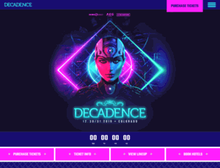 decadencenye.com screenshot