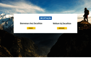 decathlon.be screenshot