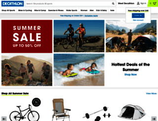 decathlon.com screenshot