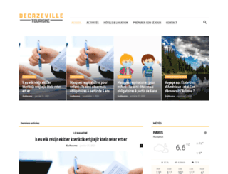 decazeville-tourisme.com screenshot