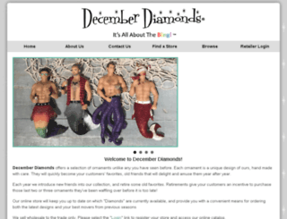decemberdiamonds.com screenshot
