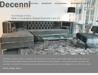 decenni.com screenshot