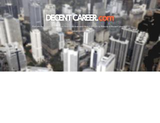Access decent-career.com. Decent-Career.com - Kerja & jawatan ...