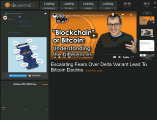 decentral.tv screenshot