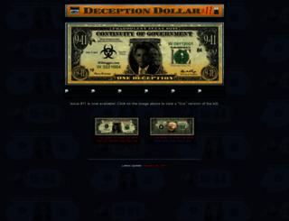 deceptiondollar.com screenshot