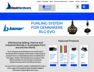 deckhardware.com.au screenshot