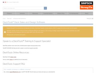 decktools.com screenshot