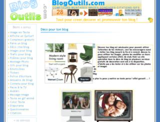 deco-pour-blog.blogoutils.com screenshot