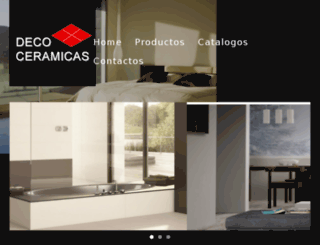 decoceramicas.com screenshot