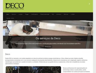 decoeco.com.br screenshot
