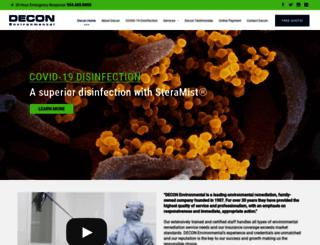 decon.com screenshot
