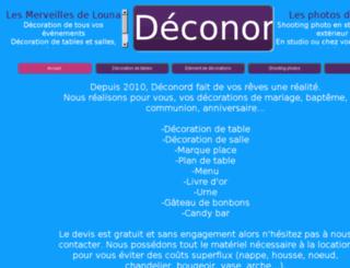 deconord.fr screenshot
