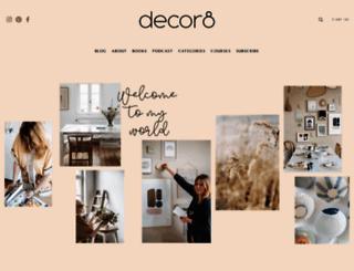 decor8blog.com screenshot