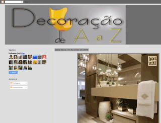 decoracaodeaaz.blogspot.com screenshot