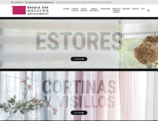 decoraconestores.es screenshot