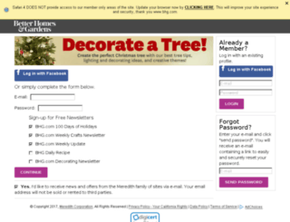 decorateacookie.bhg.com screenshot