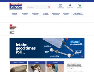 decoratingdirect.co.uk screenshot