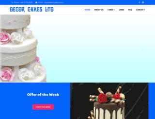 decorcakes.co.nz screenshot