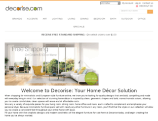 decorise.com screenshot