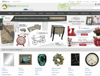 decoruniverse.com screenshot