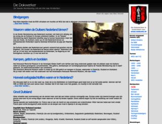 dedokwerker.nl screenshot