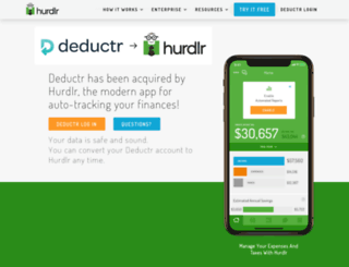 deductr.com screenshot
