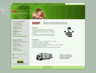 deef.pl screenshot