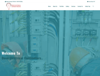 deenelectric.com screenshot