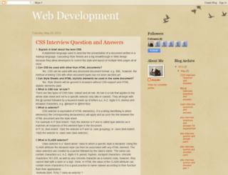 deepakc-webdevelopment.blogspot.in screenshot