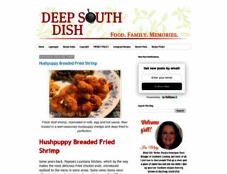 deepsouthdish.com screenshot