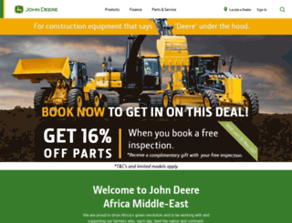deere.co.za screenshot