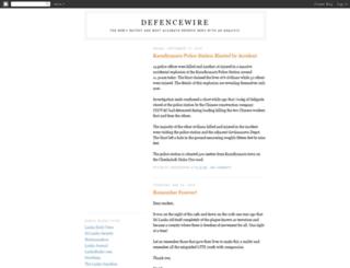defencewire.blogspot.com screenshot