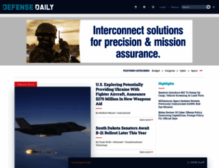 defensedaily.com screenshot