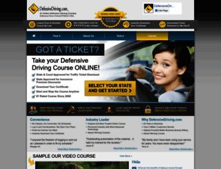 defensivedriving.com screenshot