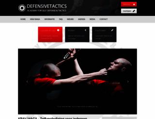 defensivetactics.nl screenshot