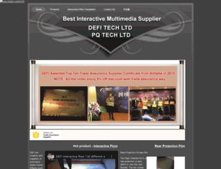 defi-interactive-projection.com screenshot