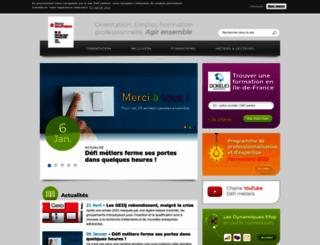 defi-metiers.fr screenshot