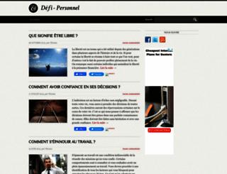 defi-personnel.com screenshot