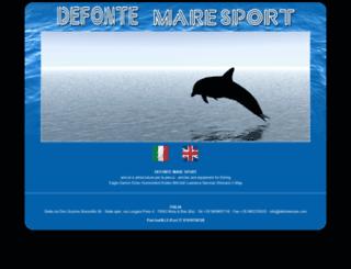 defontemare.com screenshot