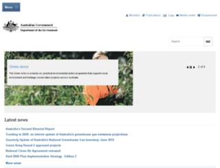 deh.gov.au screenshot