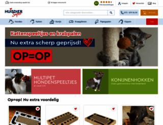 dehuisdiersuper.nl screenshot
