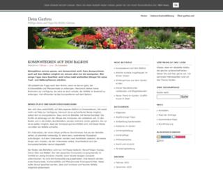 dein-garten.net screenshot