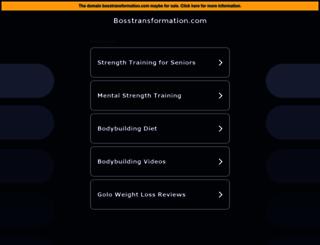 deine.bosstransformation.com screenshot