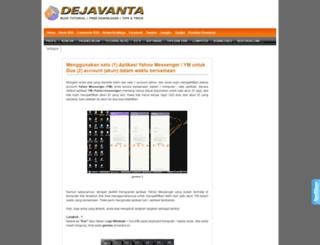 dejavanta.blogspot.co.id screenshot