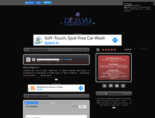 dejavu.caster.fm screenshot
