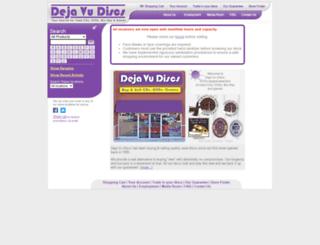 dejavudiscs.com screenshot