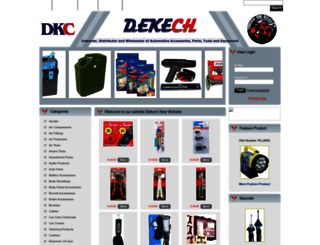 dekech.com.au screenshot
