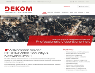dekom-security.de screenshot
