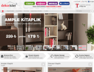 dekorister.com.tr screenshot